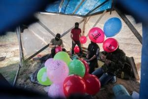Arson Balloon Attacks on Southern Israel Resume