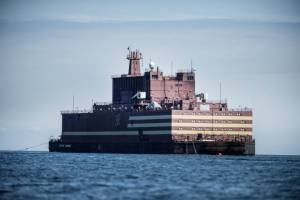 Russia Launches Its First Floating Nuclear Power Plant