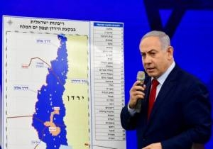 NETANYAHU VOWS TO ANNEX ALL SETTLEMENTS, STARTING WITH JORDAN VALLEY