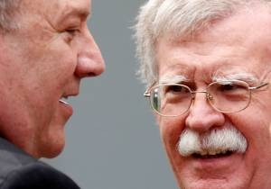 TRUMP'S BOLTON REMOVAL LEAVES POMPEO AS THE LAST MAN STANDING ...by Seth J. Frantzman