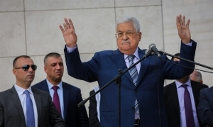 Abbas: This is Our Land, the Martyrs are Heroes