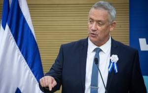 REPORT: NETANYAHU WOULD SHARE PM JOB EVEN IF GANTZ BRINGS ONLY SOME OF HIS PARTY