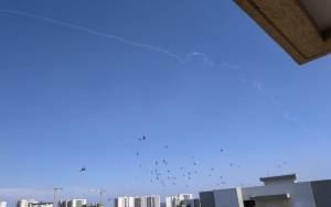 IDF TROOPS UNNECESSARILY LAUNCH IRON DOME INTERCEPTOR MISSILES IN FALSE ALARM