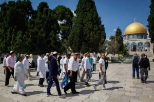 RECORD SET FOR TEMPLE MOUNT VISITS BY JEWS DURING JEWISH HOLIDAY