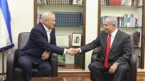 NETANYAHU, GANTZ GOVERNMENT TALKS BEAR NO FRUIT