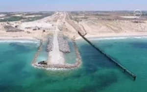 Israel's Gaza Sea Barrier Nears Completion