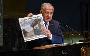 Netanyahu: Europe 'Must Stop Stalling,'Confront Iran Over Its Nuclear Program
