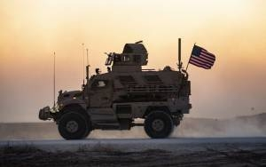 TOP US MILITARY OFFICIAL SAYS 500-600 TROOPS TO REMAIN IN SYRIA