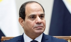 EGYPTIAN PRESIDENT: WE'RE WORKING WITH ISRAEL AGAINST ISIS