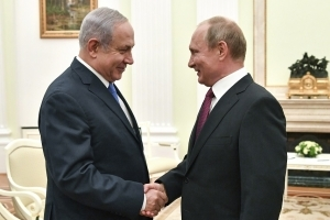 Netanyahu, Putin Agree on Continued Military Coordination in Syria
