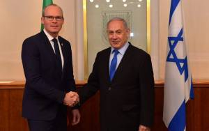 Visiting Israel, Irish FM Says He's Open For 'New Thinking' on Peace Process