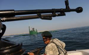 IRAN ANNOUNCES JOINT NAVAL EXERCISE WITH CHINA, RUSSIA