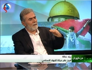 SR PALESTINIAN ISLAMIC JIHAD AND HAMAS FIGURES PRAISE IRAN'S MILITARY SUPPORT