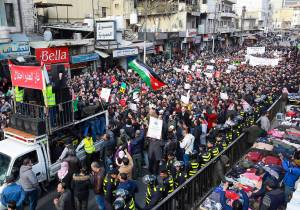 Jordanians Come Out in Droves to Protest Gas Import From Israel