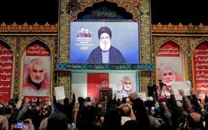 Hezbollah Chief Urges Attacks, Including Suicide Bombings, On US Bases in Region