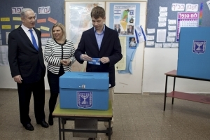 ISRAEL'S SECURITY AGENCY WARNS FOREIGN ATTEMPT TO MEDDLE IN ELECTION