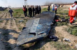 IRANIAN FOREIGN MINISTRY: DON'T TURN PLANE CRASH INTO A POLITICAL ISSUE