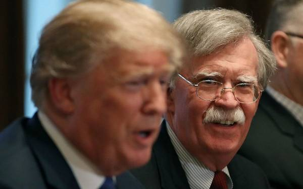 IRAN: BOLTON OUSTER 'CLEAR SIGN OF DEFEAT' OF US SANCTIONS CAMPAIGN