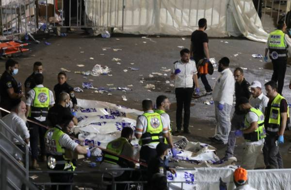 MOUNT MERON TRAGEDY: 44 KILLED, OVER 150 INJURED IN LAG BA'OMER STAMPEDE