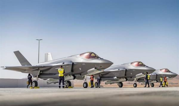 ISRAEL GETS THREE MORE F-35 STEALTH FIGHTERS