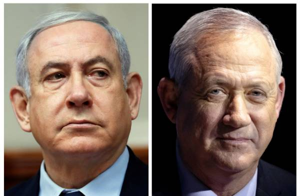 BENNY GANTZ READY TO SERVE UNDER NETANYAHU -REPORT