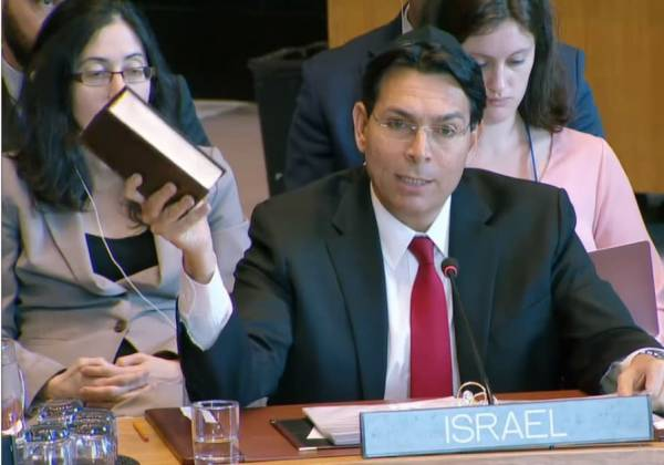 Danon Pens Letter in Response to Palestinian Complaint to UN Security Council
