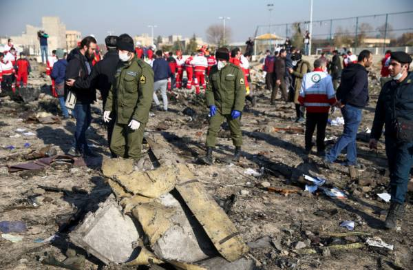 UN FINDS INCONSISTENCIES IN IRAN CLAIMS OVER SHOT-DOWN UKRAINIAN PLANE