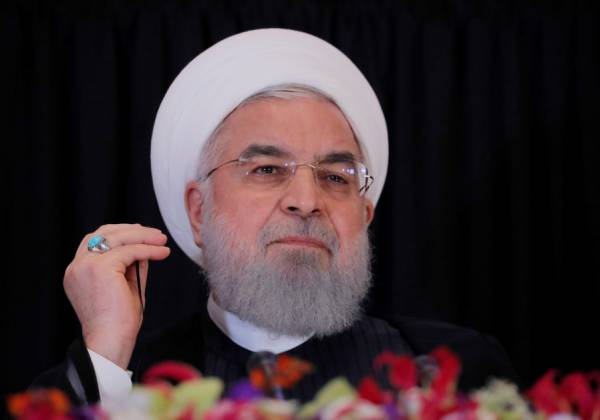 IRAN'S ROUHANI UNVEILS MASSIVE INTERNAL CORRUPTION ALLEGATIONS