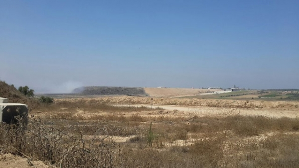 NEW THREAT FROM GAZA: LANDFILLS AND SEWAGE BUILD UP ALONG ISRAELI BORDER