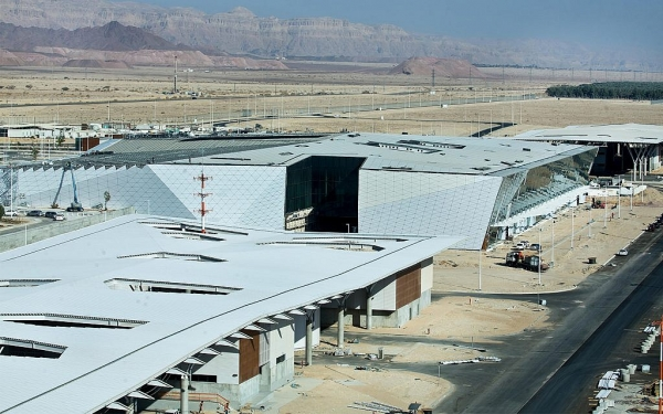ISRAEL OPENS NEW INTERNATIONAL AIRPORT NEAR RED SEA