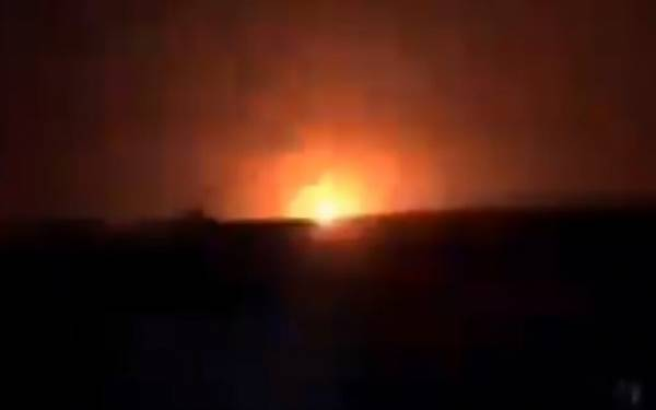 SYRIA: ISRAEL BOMBS SITES NEAR IRAQI BORDER IN AREA WITH LARGE IRANIAN PRESENCE