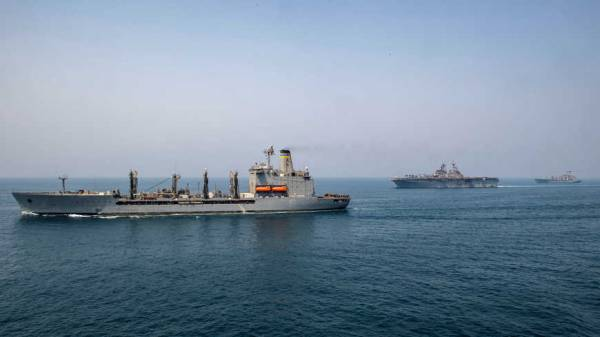 ZARIF SAYS FOREIGN SHIPS MAKING GULF 'LESS SAFE'