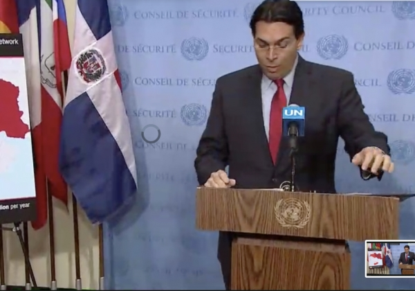 Danon: Iran Spends $7 B. a Year on Middle East Terror, Incl. in West Bank