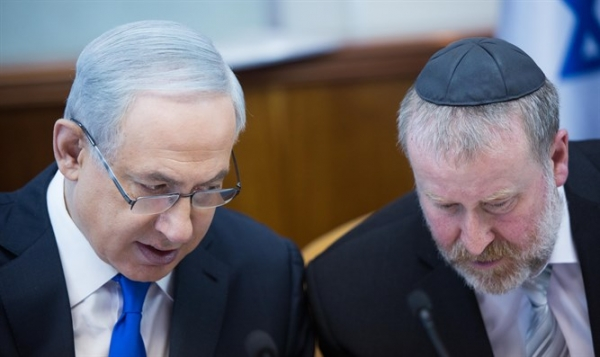 Netanyahu to Mandelblit: Wait with the Investigations