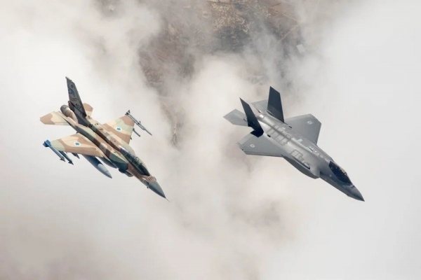US Sources: Israeli F-16s fired Delilah Cruise Missiles from Lebanese Air Space Over Syria. F-35s Joined Second Wave