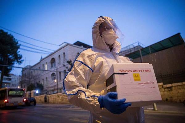 MOSSAD IMPORTS 100,000 CORONAVIRUS TEST KITS OVERNIGHT, PLANS FOR 4 MILLION MORE