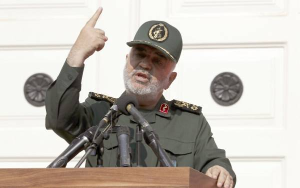IRANIAN GENERAL WARNS OF RETALIATION AGAINST ISRAEL IF US THREATS CONTINUE