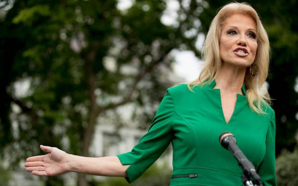 KELLYANNE CONWAY SAYS TRUMP TO MAKE 'BIG ANNOUNCEMENT' ON WEST BANK ANNEXATION