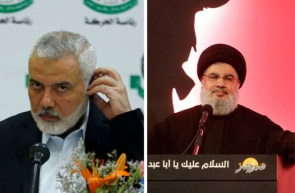 HAMAS AND HEZBOLLAH SEEK GLOBAL TERROR FRONT AGAINST ISRAEL