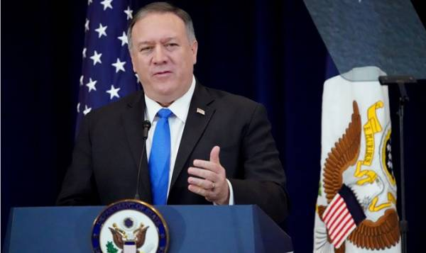 SECRETARY POMPEO: 'US WILL NEVER COOPERATE WITH ANTI-ISRAEL BLACKLISTS'