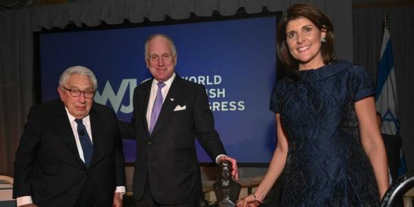 'Israel Is Not Going Away,' Ex-UN Envoy Nikki Haley Declares as She Accepts Prestigious Award From Top Jewish Group