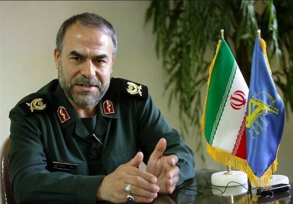 IRGC OFFICIAL SAYS U.S. COALITION IN PERSIAN GULF WILL NEVER HAPPEN