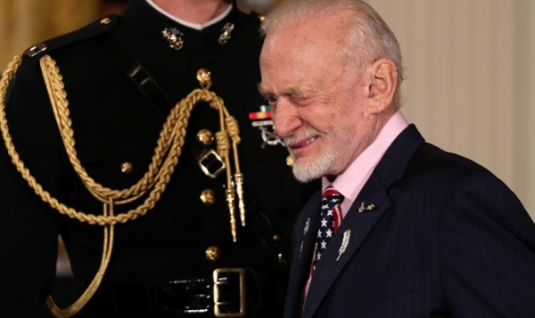 Buzz Aldrin to Israel: Never Lose Hope