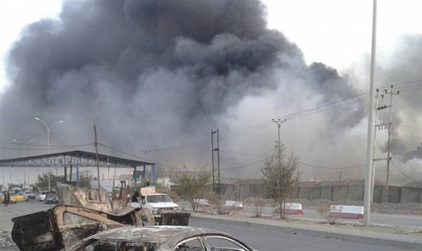 Report: Iraqi Weapons Depot Attacked