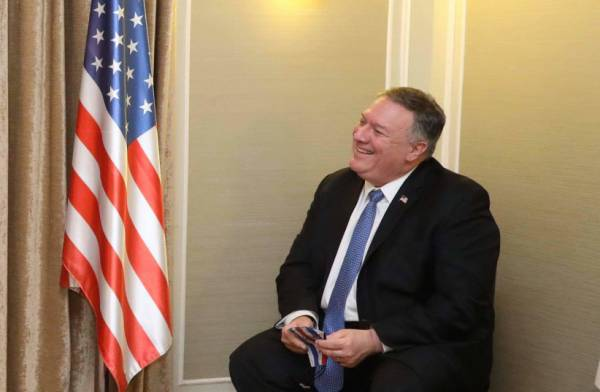 POMPEO TO 'POST': ALL OPTIONS STILL ON THE TABLE TO COUNTER IRAN
