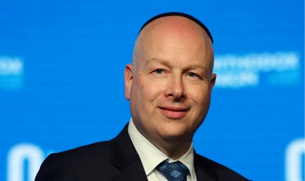 GREENBLATT RIPS PLO OFFICIAL: I WANT PEACE, DO YOU?