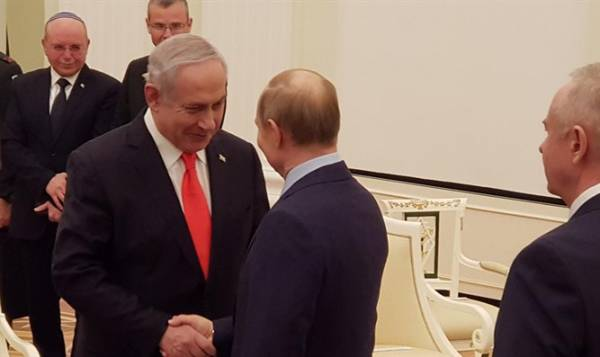 NETANYAHU THANKS PUTIN FOR 'NAAMA'S QUICK PARDON'